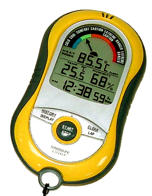 SkyScan Ti-Plus Heat Index Monitor