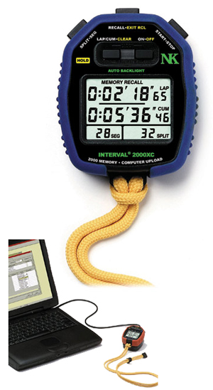 NK Interval 2000xc Track & Field Event Watch w/Software