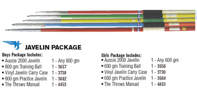 Javelin Training Packages