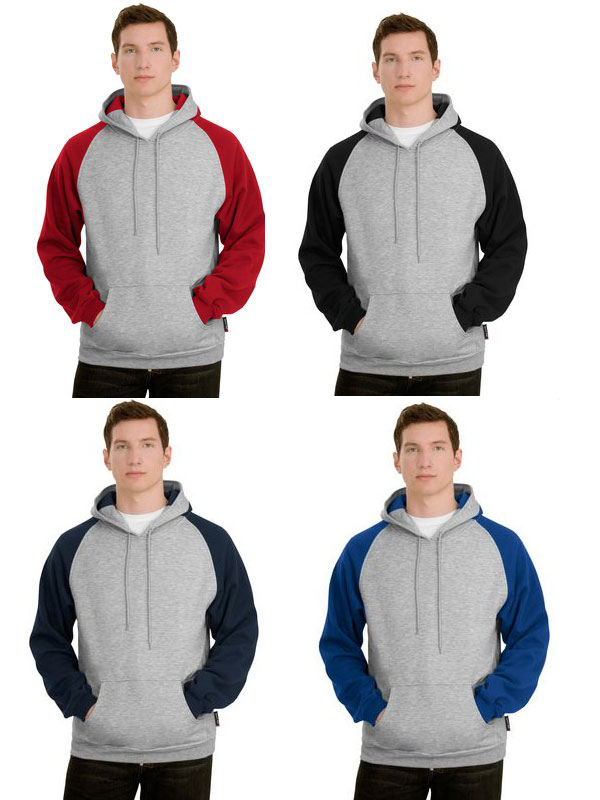 Sport-Tek Colorblock Pullover Hooded Sweatshirt