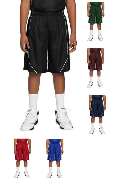 Sport Tek Youth Posicharge Mesh Reversible Spliced Short Shop a wide selection of men's athletic shorts at amazon.com. vs athletics
