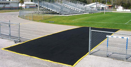 Cross-Over Zone Track Protectors