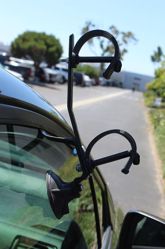 Car Pole Rack
