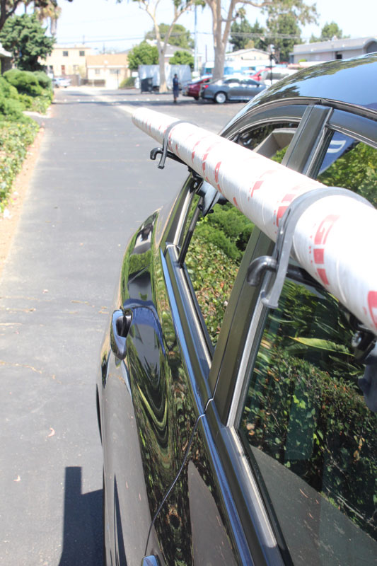 Car Pole Rack