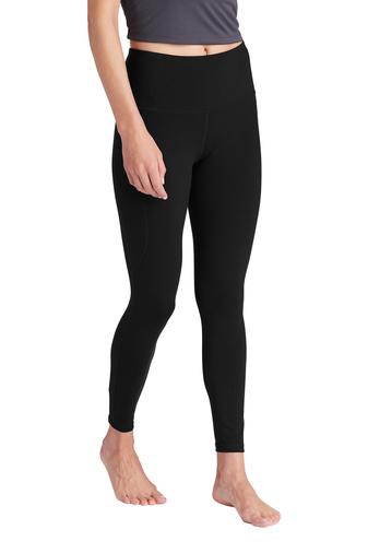 Sport Tek Ladies High Rise 7 8 Legging • over 2,000,000 yds of fabric in stock for immediate delivery • sportek intl. sport tek ladies high rise 7 8 legging