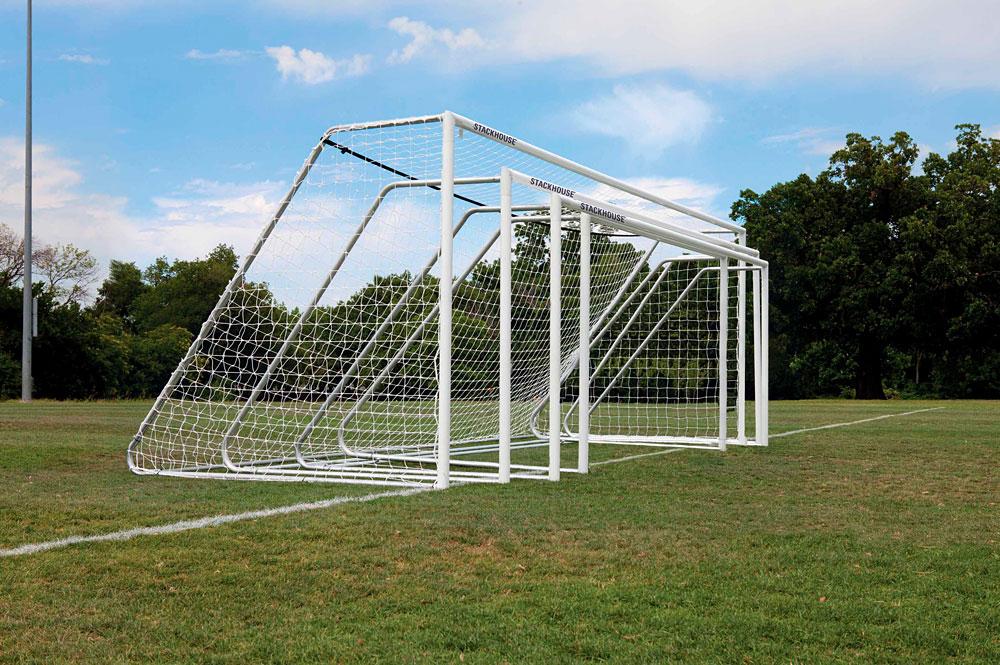 Official 3in Aluminum Soccer Goals