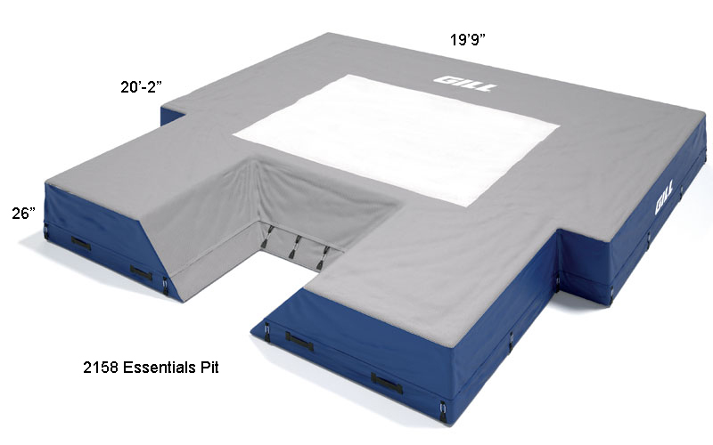 Gill Essentials Pole Vault Landing Pit