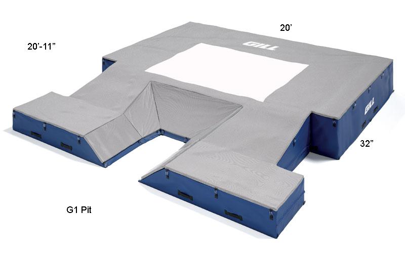 Gill G1 Pole Vault Landing Pit