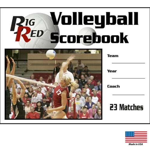 Volleyball Scorebooks