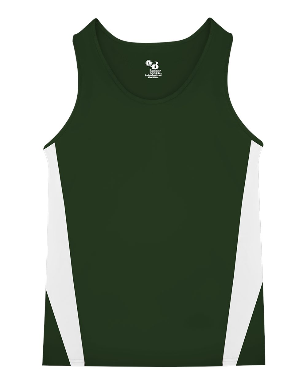 Badger Stride Singlet Youth