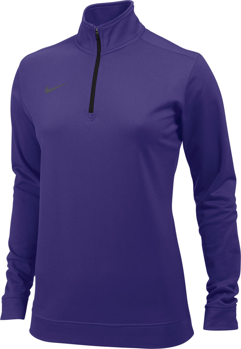 Nike Dri-Fit 1/2 Zip Top Womens - Blast Athletics
