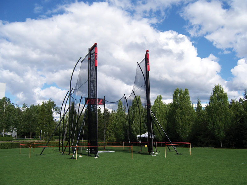 IAAF Tall Hammer/Discus Cage