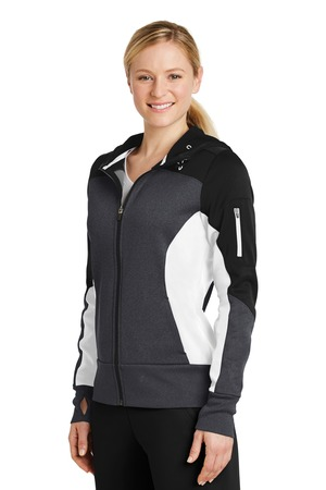 Ladies Tech Fleece Hooded Jacket