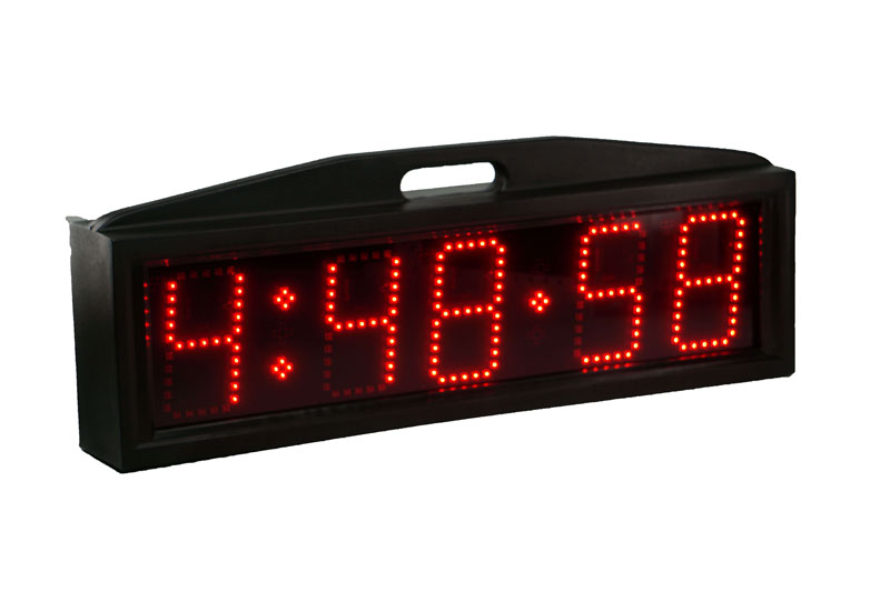 Mile Marker Race Clock
