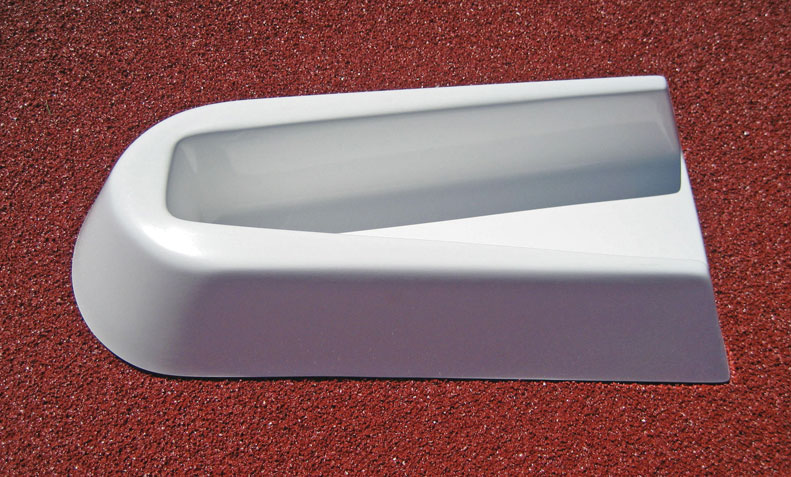 Pole Vault Sliding Plant Box