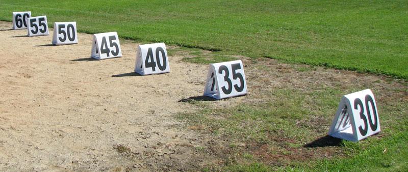 VS Field Distance Markers