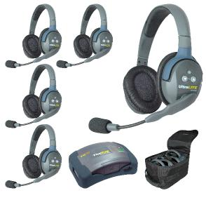 Eartec HUB 5 Person Headsets