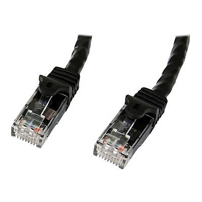 StarTech® Cat 6 Patch Cable Black