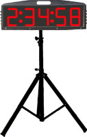 Tripod Stand for Mile Marker Clock