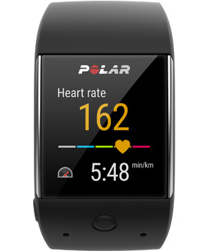 Polar M600 GPS smartwatch powered by Wear OS by Google™