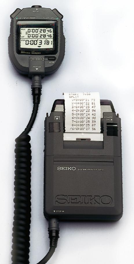 Seiko 2 Piece Printer/Timer