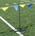 VS Synthetic Surface Field Event Flag Poles