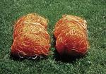 Polyethylene Orange Jr. Soccer Nets
