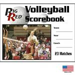 Volleyball Scorebooks